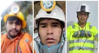 Huancavelica: Tres hermanos pierden la vida sepultados en mina - Diario Trome