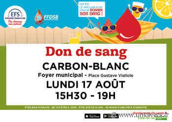 Don de sang Foyer municipal Carbon-Blanc - Unidivers