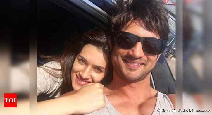 SSR's 'Raabta' co-star Kriti's cryptic post