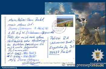 POL-OG: Rastatt - Freundlicher Fahndungshelfer - Presseportal.de