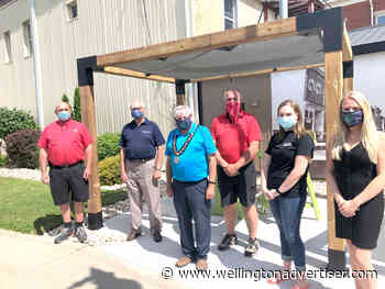 Provincial RED funds contribute to downtown beautification in Minto - Wellington Advertiser