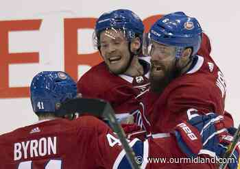 Canadiens stun Penguins 2-0 to win qualifying round series - Midland Daily News