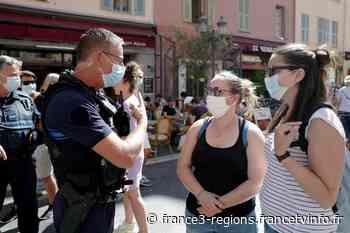 Nice, Biot, Menton, Vence... 8 communes concernées par le port du masque obligatoire dans les Alpes-Maritimes - France 3 Régions