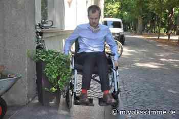 Gardelegen: Rollstuhltest auf Barrierefreiheit - Volksstimme