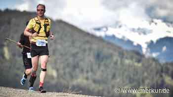 Lenggrieser Bergläufer Marcus Meinecke trägt vor dem Training Zeitungen aus - Merkur.de