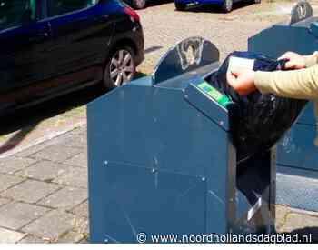 Innoverend Beverwijk komt met de 'zwerfvuilklep' in afgesloten ondergrondse afvalcontainers. Deze test begint na de zomer met tien containers en duurt een jaar - Noordhollands Dagblad
