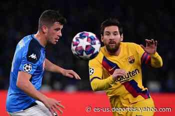 Partidos de la Champions League: cómo ver EN VIVO Barcelona-Napoli, por un pasaje a cuartos de final - Yahoo Deportes