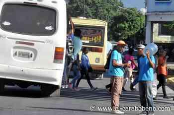 Porque las alcaldías no respondieron: Transportistas aumentaron unilateralmente el pasaje urbano - El Carabobeño
