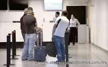Desplome de 71% en pasaje aéreo, en julio - El Heraldo de Chihuahua