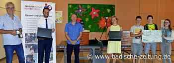 4000 Euro für Schule - Kirchzarten - Badische Zeitung - Badische Zeitung