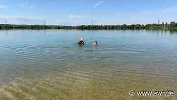 Sommerliche Frühbader am Hardtsee - SWR
