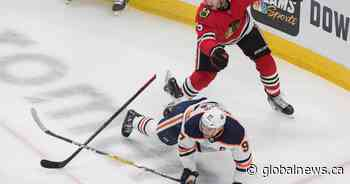 Edmonton Oilers eliminated with 3-2 loss to Blackhawks
