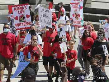 Photos: Rally demands justice for fatal crash victim