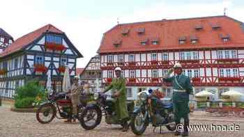 Oldtimer-Motorräder unterwegs im Wolfhager Land - HNA.de