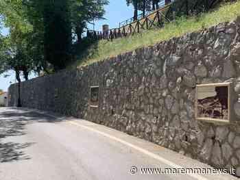 Monterotondo Marittimo: via Solferino racconta la storia del paese con le fotoceramiche - Maremmanews
