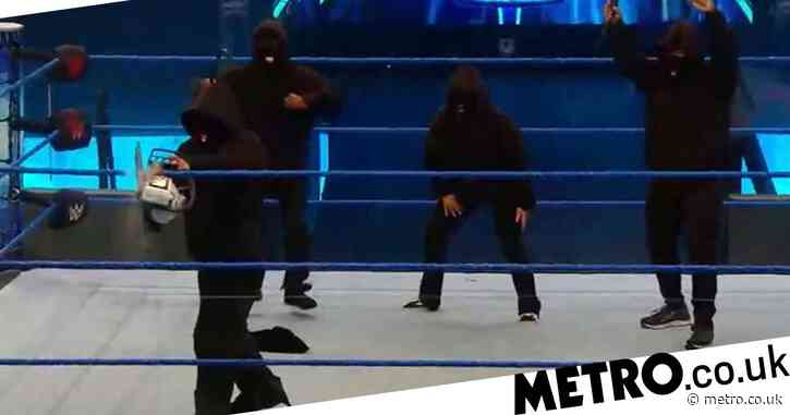 WWE SmackDown results: RETRIBUTION destroys arena as new faction causes utter destruction