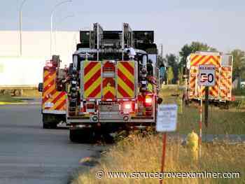 Crews from Spruce Grove, Stony Plain, Parkland County respond to fire - Spruce Grove Examiner