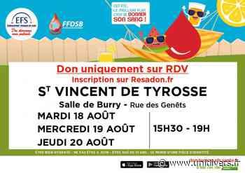 Don de sang mardi 18 août 2020 - Unidivers