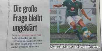 Hurra, der FC Schweinfurt 05 hat es mal wieder mit einer ganzen Seite in den Kicker geschafft - inUNDumSCHWEINFURT_DE