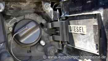 Fahrer schläft, Täter zapfen Diesel aus dem Tank ab - Augsburger Allgemeine