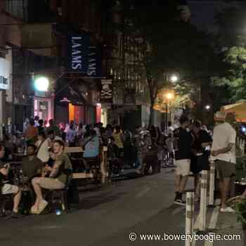 Suffering the (Non-Masked) Night Crowds at Orchard and Broome [Updated] - Bowery Boogie