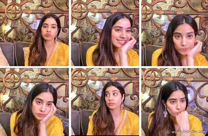 Janhvi Kapoor shares her many moods of digital promotion on Instagram