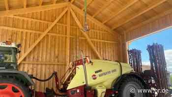 Pflanzenschutz-Befüllstation in Oberding - eine saubere Sache - BR24