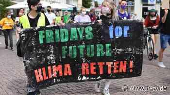 Berlin & Brandenburg:Fridays for Future demonstriert für klimafreundliche Stadt - n-tv NACHRICHTEN