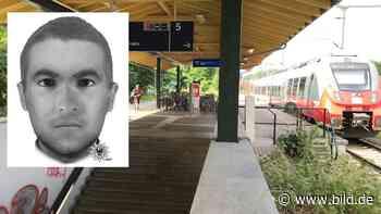 Polizei Brandenburg jagt dieses Phantom nach versuchter Vergewaltigung - BILD