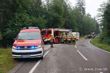 Straßensperrung und Feuerwehreinsatz: 24-Jährige kommt bei Welzheim ins Schleudern und landet in Böschung - Blaulicht - Zeitungsverlag Waiblingen