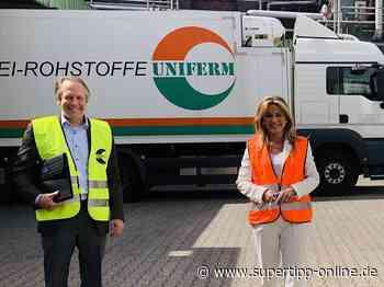 Michaela Noll besucht Monheimer Backhefe-Hersteller - Kreis Mettmann - Supertipp Online