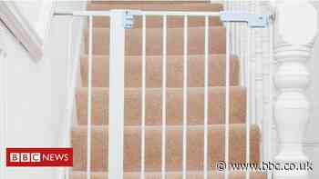 Child died after becoming trapped between two stairgates, report finds