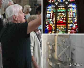 A Pont-Audemer, Michèle Boucher anime des visites guidées de l'église Saint-Ouen tout l'été - L'Eveil de Pont-Audemer
