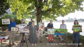 Malerische Aussichten: Leutesdorfer schlagen mit Kunst Brücke nach Andernach - Rhein-Zeitung