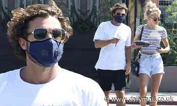 Brody Jenner keeps his look casual as he grabs sushi with rumored girlfriend Briana Jungwirth