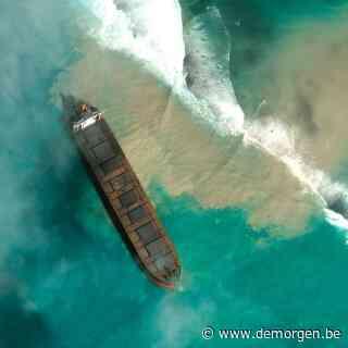 Milieuramp dreigt voor Mauritius door lekkend olieschip