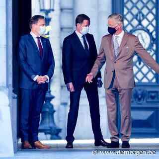 De Wever en Magnette trekken zonder doorbraak naar de koning