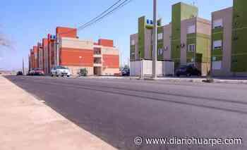 Capital: pavimentaron casi 3000 metros de calle en Concepción, Trinidad y Desamparados - Diario Huarpe