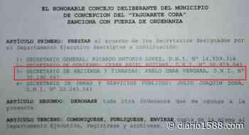El secretario de Hacienda de Concepción cobra IFE - 1588