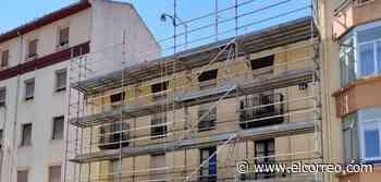 Sustituyen la cubierta hundida en la calle Concepción Arenal 14 - El Correo