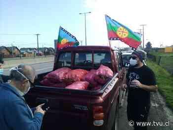 La solidaridad mapuche de Arauco hacia familias vulnerables de Concepción - TVU