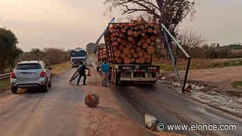 Camión destruyó arco sanitario ubicado en el ingreso de Concepción del Uruguay - Elonce.com