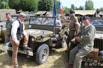 Les alliés ont débarqué à Saint-Ouen (Photos) - actu.fr
