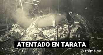 Bombazo en Tarata - Diario Trome