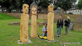 Rees: Neuzugänge für den Skulpturenpark aufgestellt - NRZ