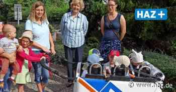 Ronnenberg: Volksbank spendiert Kita Lummerland einen Kinderbus Ausflüge - Hannoversche Allgemeine