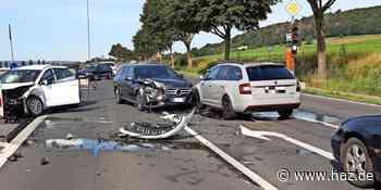 Ronnenberg: Unfall mit drei Autos auf der B65 am Gehrdener Damm - Hannoversche Allgemeine