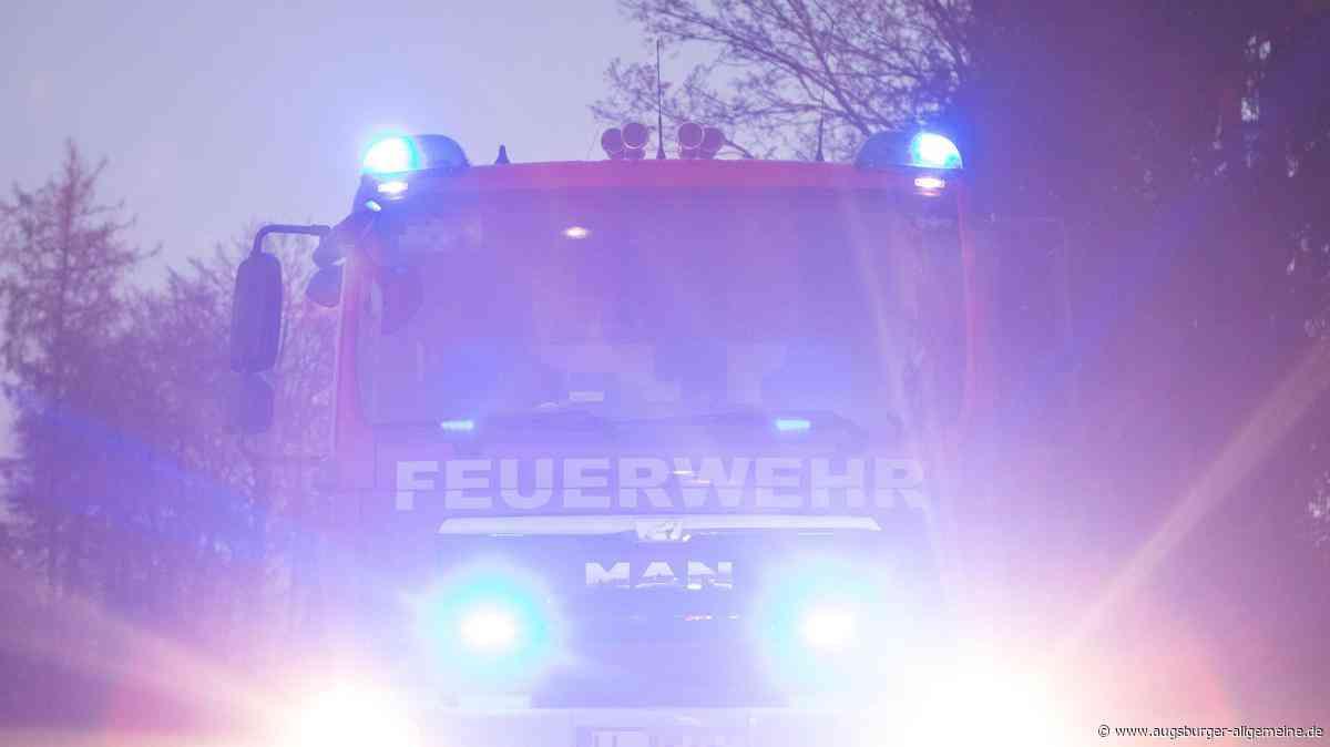 Großbrand in Greifenberg: Dutzende Bewohner aus Mehrfamilienhaus gerettet