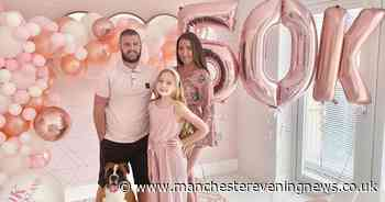 Mum spends £50k to make house 'the perfect shade of pink'