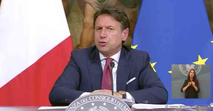 """Governo, Conte: """"Rimpasto a settembre? Pienamente soddisfatto di tutti i ministri. Ora siamo concentrati sul Recovery Plan italiano"""""""